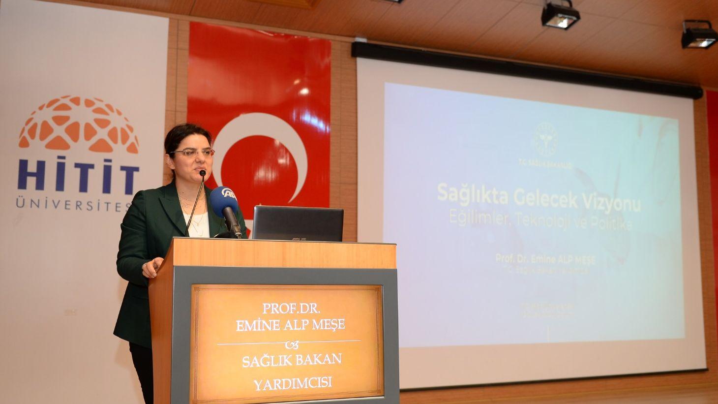 SAĞLIK BAKAN YARDIMCISI PROF. DR. EMİNE ALP MEŞE'NİN ÇORUM ZİYARETİ