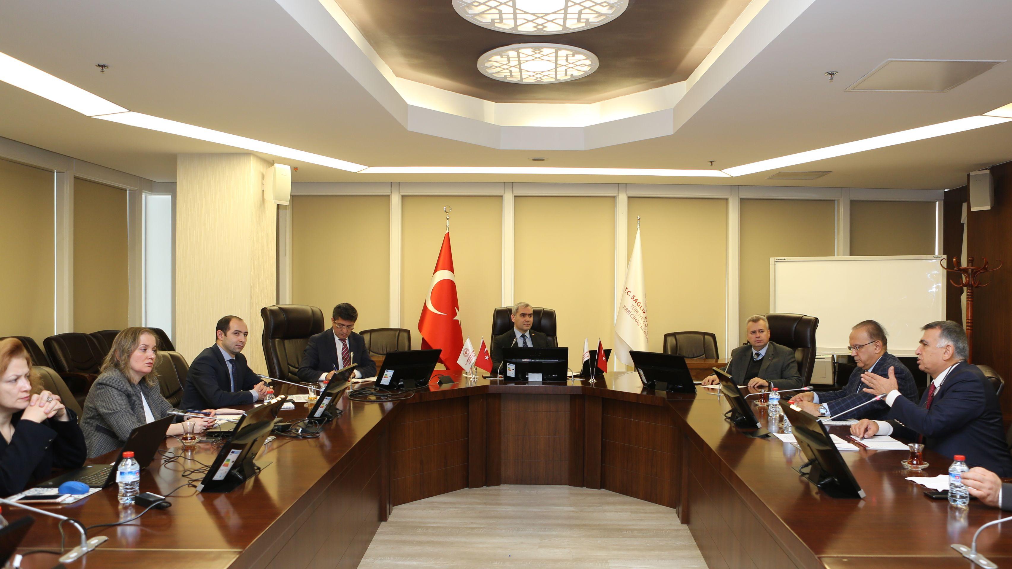 TİTCK-ECZA DEPOLARI DERNEĞİ SEKTÖR İSTİŞARE TOPLANTISI