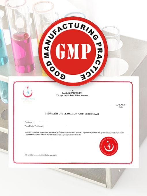 Gmp Sertifikasi Verilen Kozmetik Üretim Tesisleri